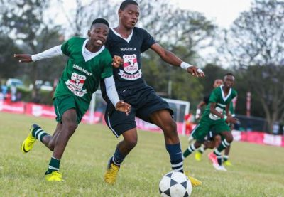 Nigeria trashes Zimbabwe in second match of Copa Coca-Cola, grabs quarter final ticket