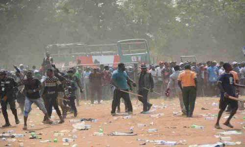 Wanted! Police set manhunt after 'Seigo' over Lagos APC rally violence