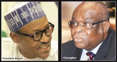 [Full Text] Buhari on Onnoghen's suspension, says ex-CJN moral authority already wounded