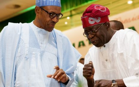 Buhari with Tinubu - newsheadline247.com