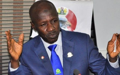 Magu exposed for looting funds