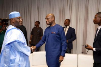 Presidential Debate: Atiku gives reason for walking out, says I came to face Buhari