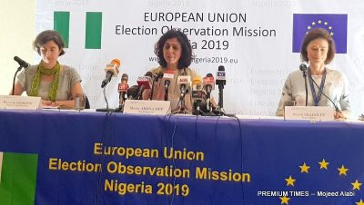 PDP commends EU report on Nigeria's 2019 general election
