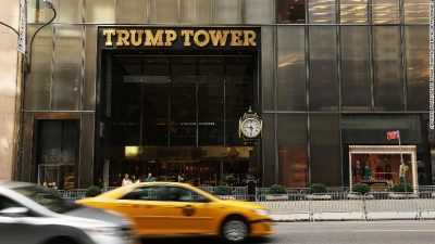 New York to rename street housing Trump Tower Barack Obama Avenue