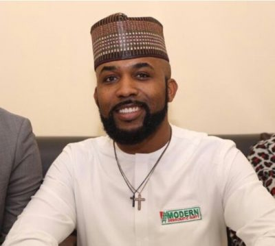 #NigeriaDecides: MDP's Banky W floors Obanikoro's son at Osinbajo's polling unit