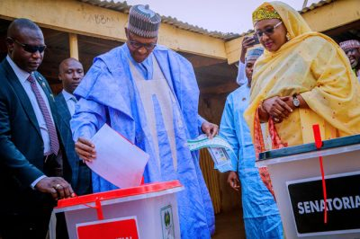 Buhari about to win re-election