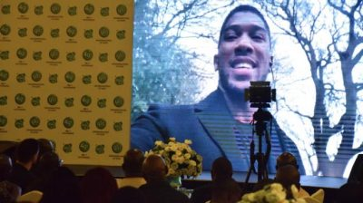 Anthony Joshua becomes Glo brand ambassador [Video]