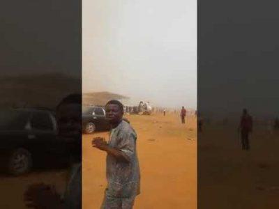 VIDEO: When Vice-President Osinbajo crash-landed