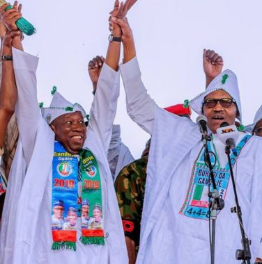 PDP slams Buhari, APC over Niger Republic govs' appearance at Kano presidential rally