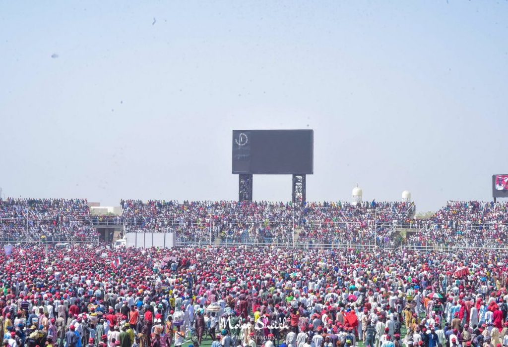Kwankwaso, Secondus assure victory as Kano stand still for Atiku [PHOTOS]