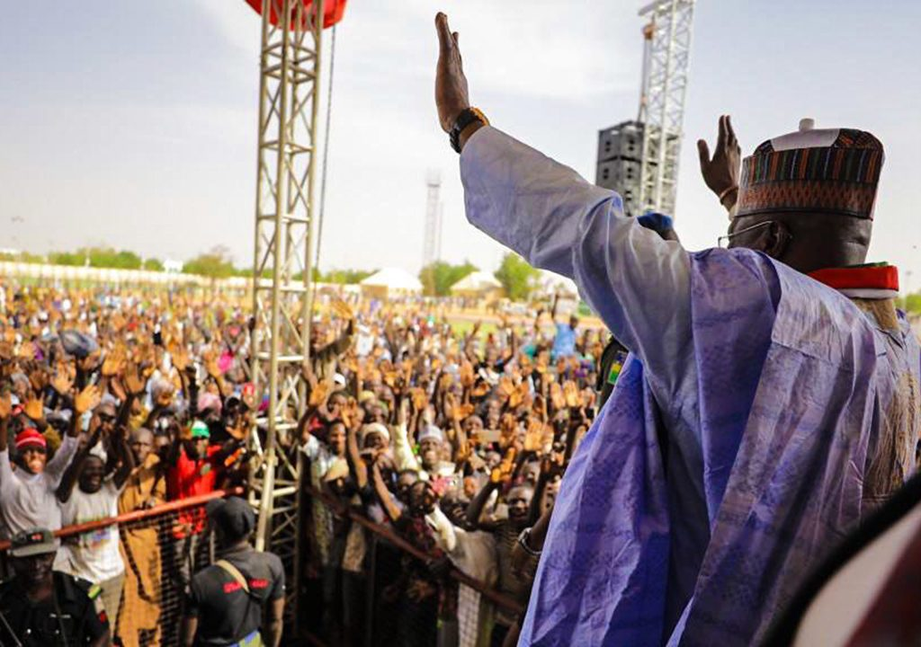 Atiku takes campaign to Yobe, urge Northeast electorates to vote 'one of your own' as President