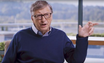 Bill Gates says Africa stays the same while the world grows older