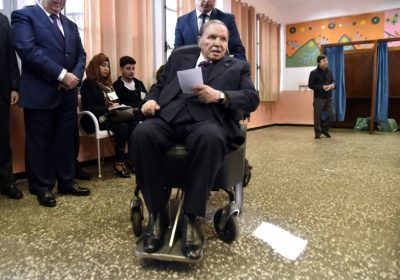 Ailing Algerian President Bouteflika confirms run for 5th term