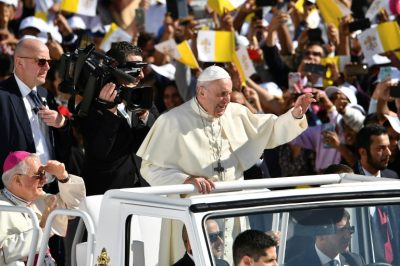Pope Francis holds historic public mass for 170,000 Catholics in UAE