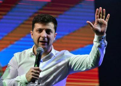 newsheadline247/Ukrainian Election: Comedian Zelensky leads in presidential race