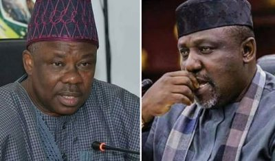 Developing Story: APC suspends Amosun, Okorocha over anti-party activities, mulls expulsion