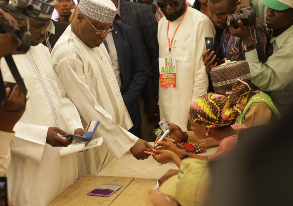 Governorship Poll: Low turnout of electorate because presidential poll was rigged says Atiku