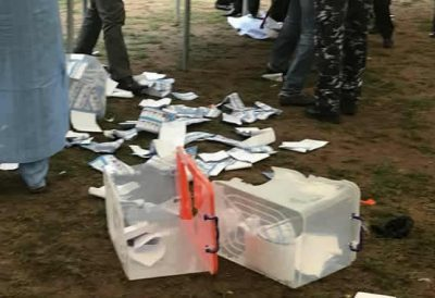 Ogun Gov Election: Thugs hijack ballot materials, shoot police officer