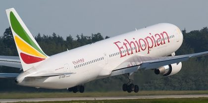 JUST IN: Ethiopian Airlines Boeing 737 crashes, 157 on board