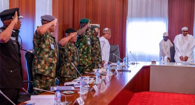 Buhari, Security Chiefs meet again in Abuja