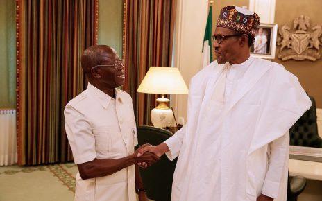 newsheadline247/Buhari hails Oshiomhole at 67, speaks on his leadership