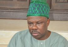 Developing Story: Amosun surrenders 1000 AK47 rifles, 4million bullets acquired before 2019 elections/newsheadline247/Premium Times NG