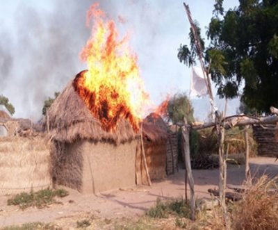 Chibok village attacked,  set on fire by Boko Haram