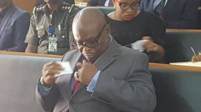 Onnoghen: CCT convicts suspended CJN, bars him from public office for 10 years
