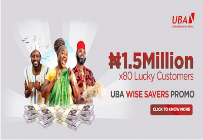 20 Additional Millionaires to Emerge in UBA Wise Savers Promo…N60 million up for grabs