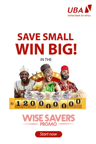 More millionaires to emerge in UBA Wise Savers Promo