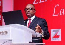 newsheadline247/Zenith Bank Appoints Ebenezer Onyeagwu GMD/CEO