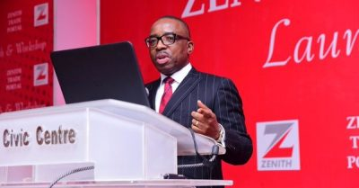 newsheadline247/Zenith Bank Appoints Ebenezer Onyeagwu GMD/CEO