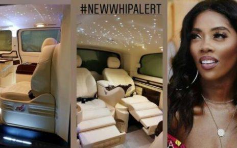 newsheadline247/Tiwa Savage acquires multi-million exotic customise car