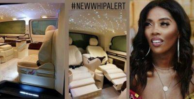 Tiwa Savage acquires multi-millionN exotic customise car