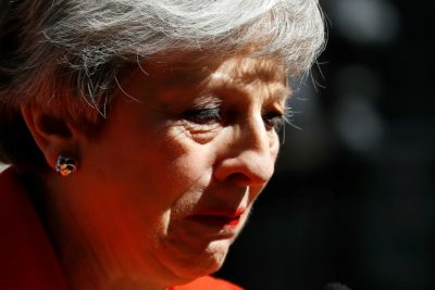 Details: Britain's May announces resignation in emotional end/newsheadline247