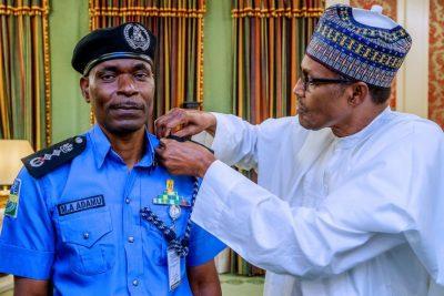 Buhari confirms Adamu Mohammed as IGP