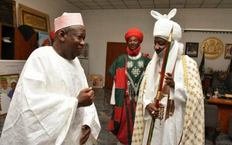 Group accuses Ganduje of planning to remove Emir of Kano, Sanusi/newsheadline247.com