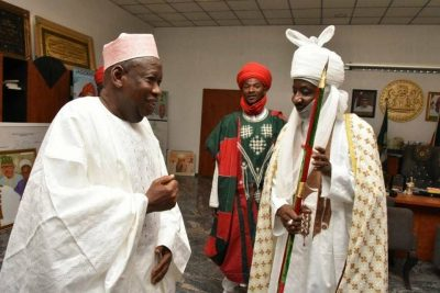 Group accuses Ganduje of planning to remove Emir of Kano, Sanusi/newsheadline247.com