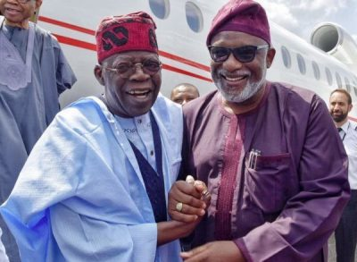 Ondo 2020: Akeredolu settles rift with Tinubu, holds peace meeting with him in Abuja