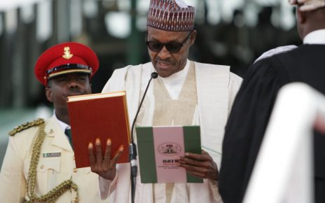 President Buhari sworn in for second term, promises to be fair to all /newsheadline247