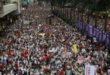 Hong Kong leader refuses to scrap extradition bill despite rally/newsheadline247