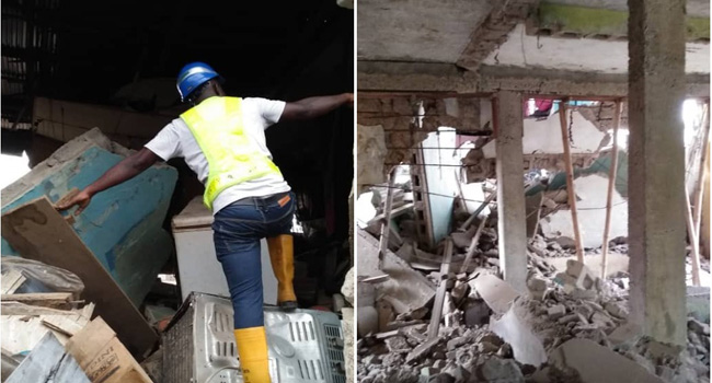 Lagos: Eight injured in Oshodi building collapse