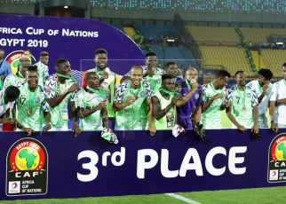 Nigeria beat Tunisia 1-0 to win 2019 AFCON bronze medal/newsheadline247