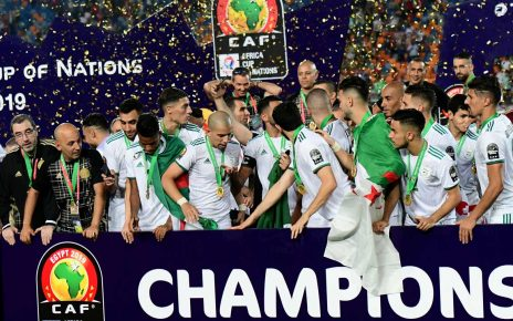 AFCON 2019: Algeria defeat Senegal to claim second Africa Cup of Nations after 29 years//newsheadline247.com