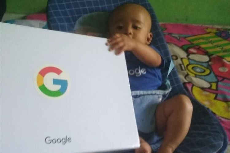 Baby named 'Google' gets gifts from Google