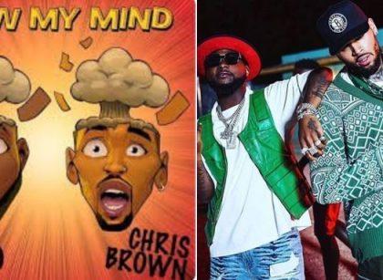 Nigerians react over Davido, Chris Brown/newsheadline247 'Blow My Mind'