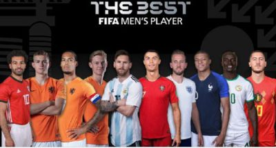 Ronaldo, Messi, Salah make 2019 FIFA best nominees list/newsheadline247