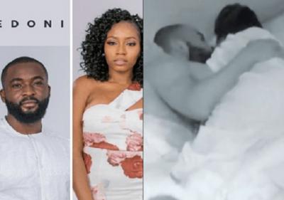 [Video] BBNaija's Khafi, Gedoni caught having sex