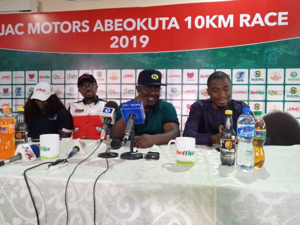 JAC Motors Abeokuta 10KLM Race will boost Ogun State development – Bukola Olapade