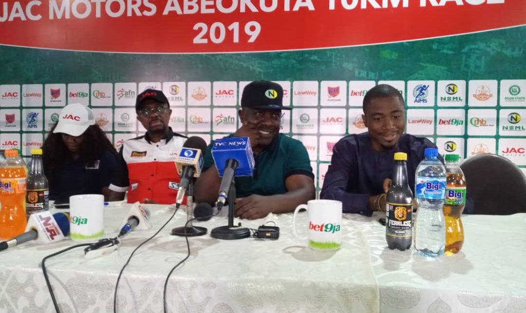 JAC Motors Abeokuta 10klm Race will boost Ogun State development – Bukola Olapade/newsheadline247